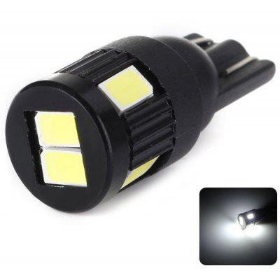 T10 Car Light Turn Signal Light DC12V 6 - SMD 5730 LED White Brake Light