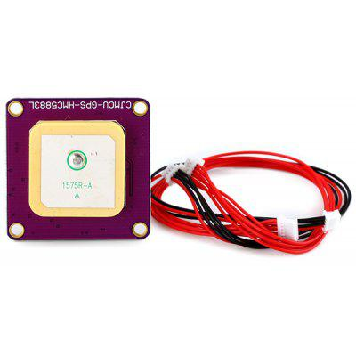 CJMCU 108 Ublox NEO - 6M Chip GPS Module for APM 2.6 Flight Controller with Compass Built - in Antenna