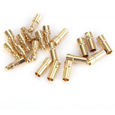 Special Design 10 Pairs 3.5mm Banana Bullet Connector DIY RC Battery ESC Motor Plug