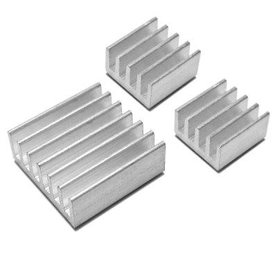 3pcs/Pack Heatsink Heat Dissipation Panel for Raspberry Pi