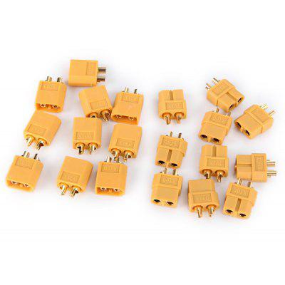 Special Design 10 Pairs XT60 Male + Female Bullet Connectors Plug for RC Lipo Battery