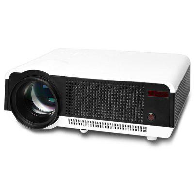 HTP LED - 86C 1280 x 800 Pixels 3200 Lumens Home Outdoor Entertainment Projector with HDMI VGA AV TV USB Input