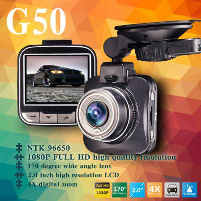 Dome G50 1080P FHD Car DVR Dash Cam 16.0MP Resolution Video Recorder 170 Degree Wide Angle Lens G - sensor