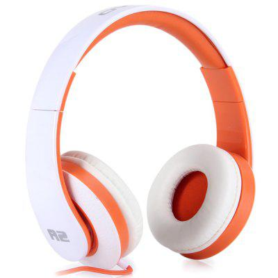 OVLENG A2 Comfortable Fit Dynamic Stereo DJ Headphones Stretchable Headset 1.2m Cable for iPhone