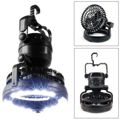 New Super Bright 18 - LED Tent Light Lamp with Fan for Outdoor Camping Travel