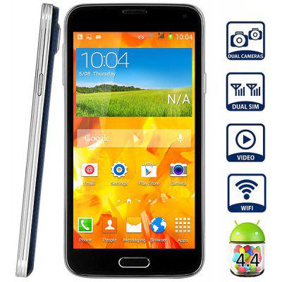 Mpie I9600 Android 4.4 Unlocked Phone Phablet MTK6572 Dual Core 1.3GHz With 5.0 inch WVGA Screen Smart Scroll Function
