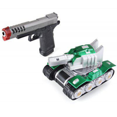 Action Series Infrared Control RC Music Super Tank and GunToy Gift