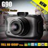 Dome G90 2.7 inch 13.0MP Resolution H.264 1080P Full HD Car DVR 170 Degree Wide Angle Lens Video Recorder with Charger - BLACK