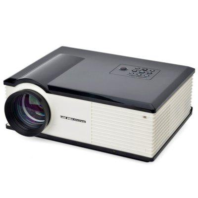 PH580S 220 Lumens 1280 x 800 Pixels HD LCD Projector 2000:1 Contrast Ratio with HDMI VGA TV AV USB Input EU Plug