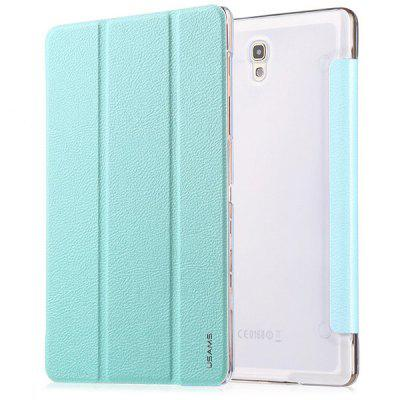 USAMS Starry Sky Series Artificial Leather and Plastic Material Smart Cover to Wake and Sleep Case with Stand Function for Samaung Galaxy Tab S 8.4 T700
