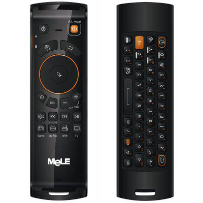 Mele F10 Lujoso 2.4 GHz de Inalámbrico Portátil Air Mouse y Teclado Incorporada Batería de Litio para Windows XP 7 8 Vista Linux Mac