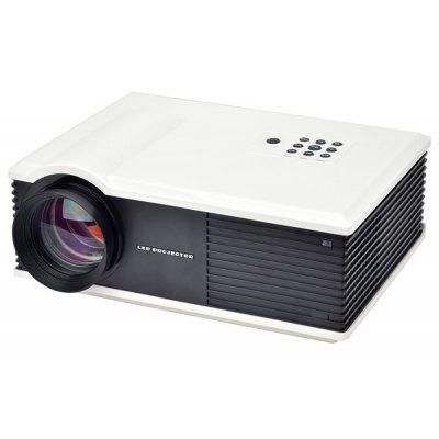 PH580S 220 Lumens 1280 x 800 Pixels HD LCD Projector 2000:1 Contrast Ratio with HDMI VGA TV AV USB Input AU Plug