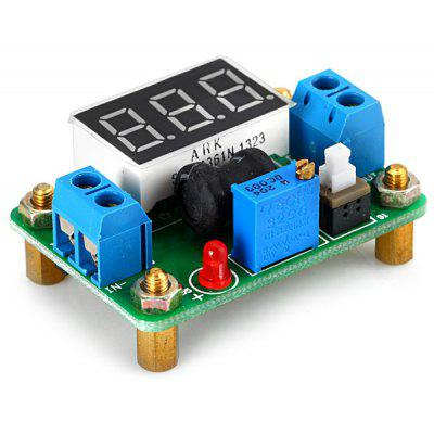 I061801 DC - DC Synchronous Rectification Power Module LM2596  -  Voltage Display