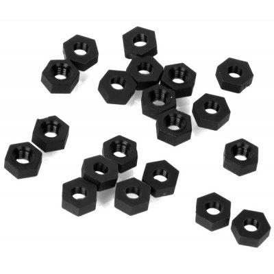 M3 Nylon Hex Nuts for DIY Project  -  20PCS