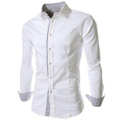 Turn-down Collar Long Sleeves Shirt