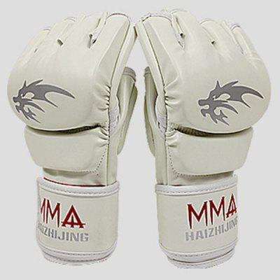 Dynamic Breathability Half - finger Taekwondo Gloves with Safety Design for Exercise