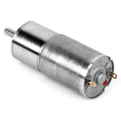 ZnDiy - BRY Practical High Torque Gear Box Motor + 1.89 inches Length 16GA - 15 - round DC 12V 15rpm