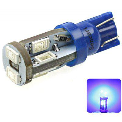 Sencart T10 5730 10 LEDs 4W 450 - 490nm Wavelength Blue Light Car Clearance Light DC 12  -  16V