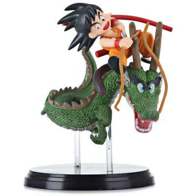 Dragon Ball Z Fatastic Arts Goku Shenron Model Vivid Japan Cartoon Character Miniature