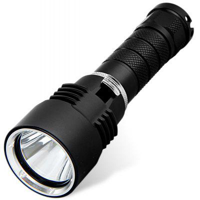 Cree XM - L T6 LED 1 x 18650 Battery Diving Flashlight Torch with 1600 Lumens
