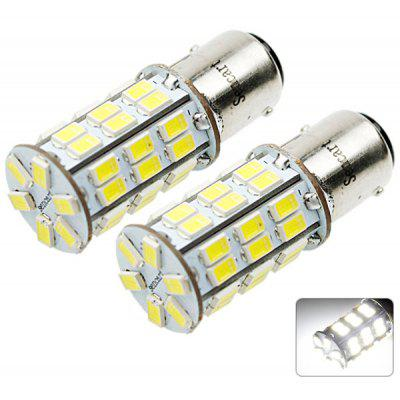 Sencart 1142 BA15D SMD 5730 42 LEDs 20W White Light Car Brake Lamp 1500LM DC 12  -  16V (2 pcs)
