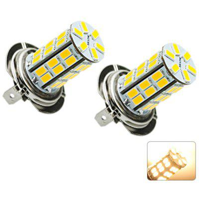 Sencart SMD 5730 42 LEDs 20W H7 Warm White Light Car Headlight Fog Light 1500LM DC 12  -  16V (2 pcs)