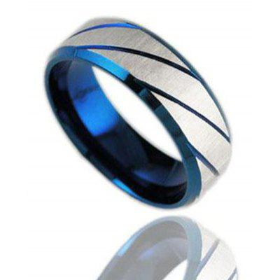 Trendy Blue Ring For Men