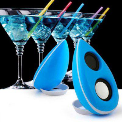 PopuPine M3+ Portable Home Outdoor Camping USB Speaker for Desktop Laptop