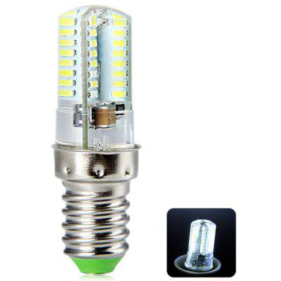 E14 5W 64 3014-SMD White Light LED Candle Light