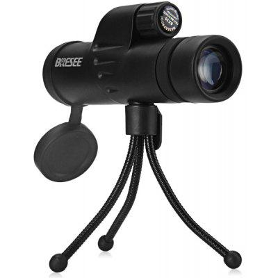 Portable Bresee 8 x 30 High Resolution Monocular for Bird - watching and Camping