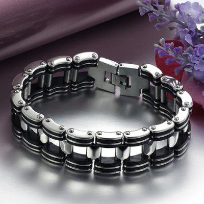 Titanium Steel Bicycle Chain Bracelet
