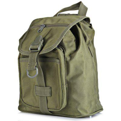 Portable Women Nylon Military Backpack for Outdoor Travel