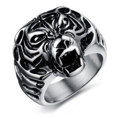 Fashion Solid Color Animal Ring For Men en Gearbest