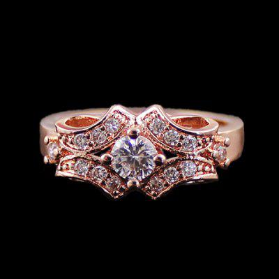 Delicate Rhinestone Decorated Women's Ring en Gearbest