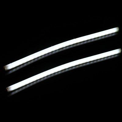 DC12V 30CM 30 3014 - SMD LEDs 120LM White Decorative Daytime Running Light  -  2PCS