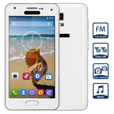 S5 Quad Band Unlocked Cell Phone Dual Cameras Dual SIM FM Bluetooth with 4.7 inch Resistive Touch Screen WiFi Analog TV