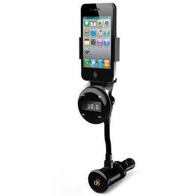 Novelty D8 1107 Car Handfree FM Transmitter Charger for iPhone 4 4S iTouch 2 3