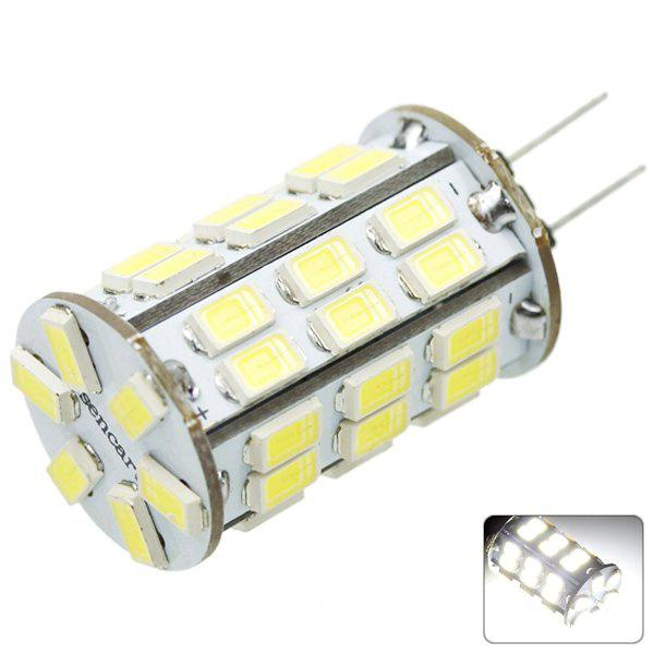 Sencart G4 SMD - 5730 8W 800  -  1200LM White Light Transparent 42 - LED Corn Light Bulb (DC 12  -  16V)