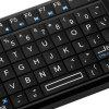 TR - MWK Ultramini 2.4GHz Wireless Touchpad Keyboard with Embedded Receiver and IR Light for HTPC PS3 Xbox360 - BLACK