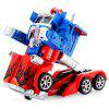 Fengyuan Remote Control 28128 Robot Transformers / Optimus Prime / Automatic Deformation Car Toy 220 - 240V - BLUE AND RED