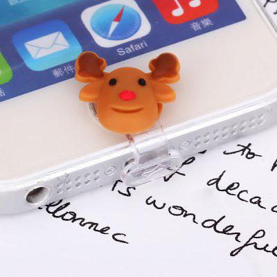 Little Deer Cartoon Style Home Button Cover Cell Phone Dustproof for iPhone 4s 5 5s iPad Mini iPod Touch