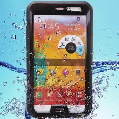 Practical Transparent Waterproof Plastic and Silicone Protective Case for Samsung Galaxy Note 3 N9000 N9006