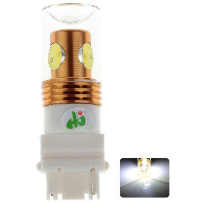 HJ 3156 10W 900lm 1 CREE Lamp Beads 3 LED Integrated Lamp Beads Glass Lampshade for Car Backup Light (12 - 24V)