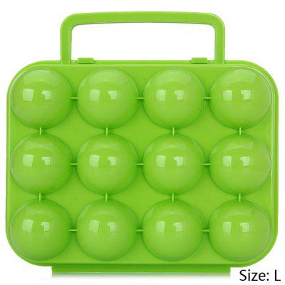 Plastic Shockproof Eggs Case with Handle for Household and Outdoor