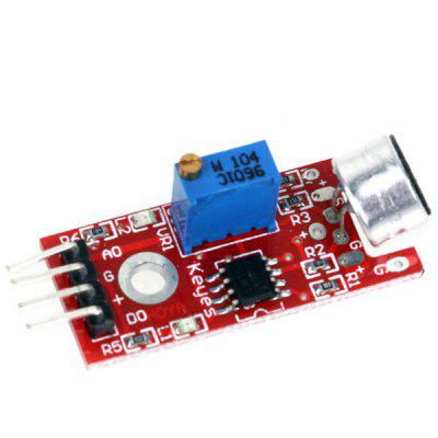 Buy High Quality Microphone Sound Detection Sensor Module Works with Official Arduino for $2.45 in GearBest store