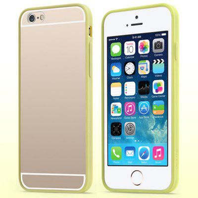 USAMS Edge Color Series Transparent PC and TPU Material Protective Cover Case for iPhone 6 4.7 inch Screen