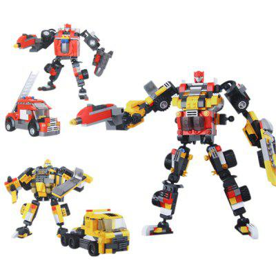 Star Diamond 81512 Funny War Fire Warrior Building Blocks Plastic Intelligent Toy Best Gift