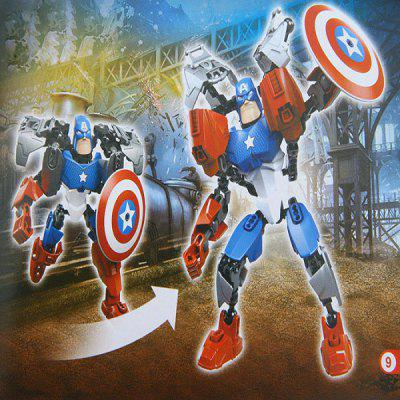 8006 Funny Super Heroes Captain Americas Building Blocks Plastic Intelligent Toy Best Gift en Gearbest