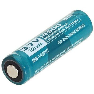 Olight 14500 3.7V 750mAh Protected Rechargeable Li - ion Battery