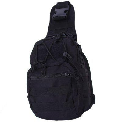 Practical Canvas Chest Backpack / Shoulder Bag for Men and Women